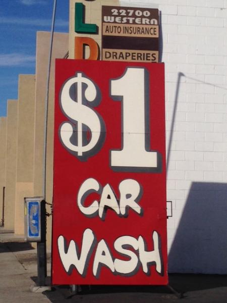 $1 Car Wash
